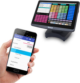 Uniwell Phoenix integrated handheld ordering for cafes restaurants bistros